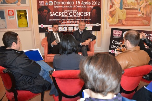 Video conferenza stampa Sacred Concert 15 Aprile
