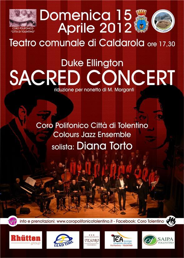 Sacred Concert di Duke Ellington. Domenica 15 aprile