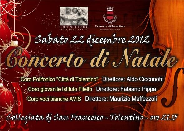 Concerto di Natale 22 dicembre