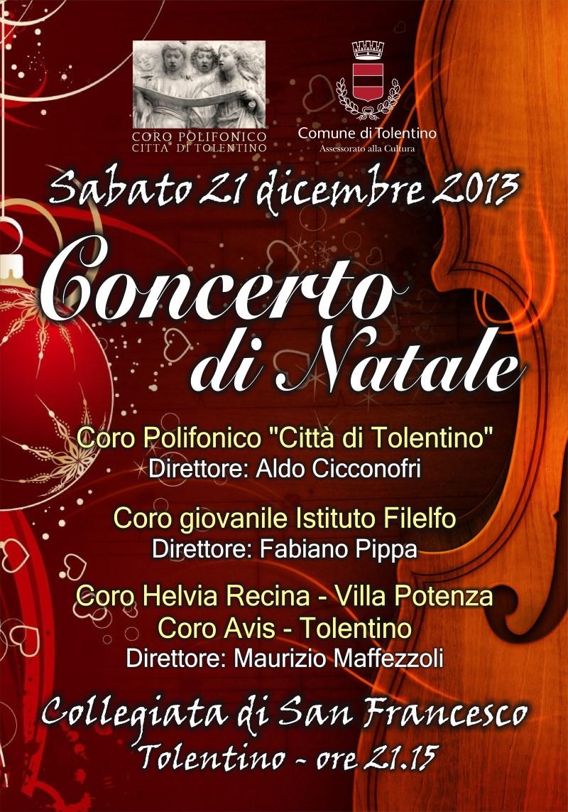 """Tradizionale Concerto di Natale del Coro Polifonico """"Città di Tolentino"""""""