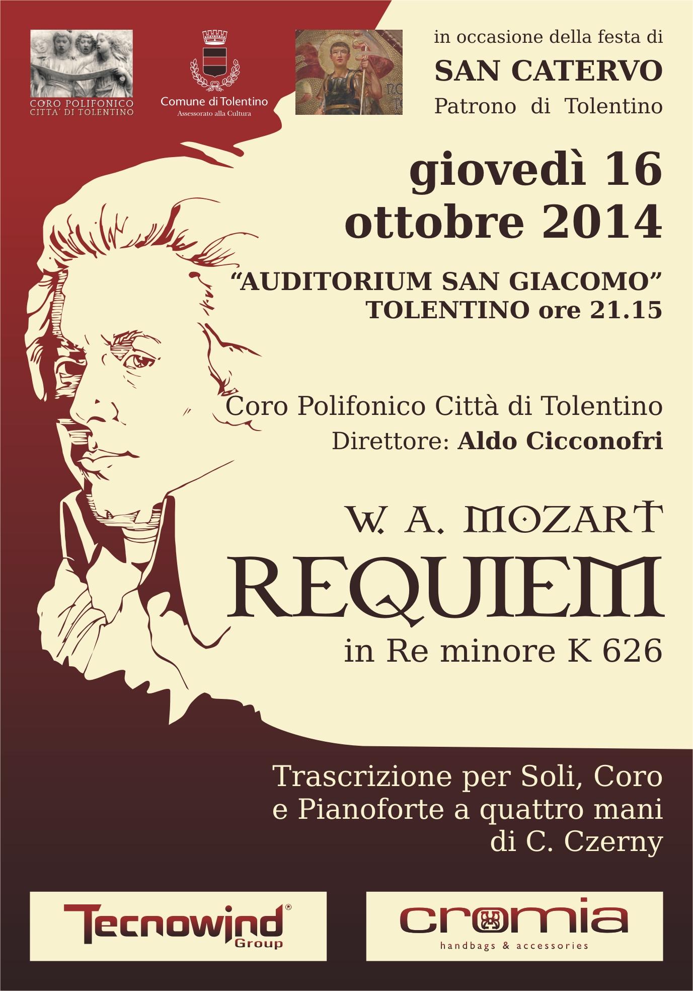 Il REQUIEM di Mozart per la Festa di San Catervo