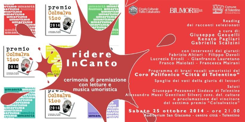 Ridere InCanto, Concerto per il Premio Colsalvativo