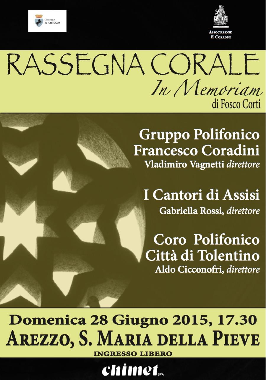 """Rassegna Corale """"In Memoriam di Fosco Corti"""""""